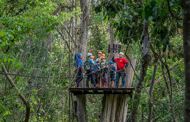 Angkor Zipline Fly In The Jungle Kyork Travel