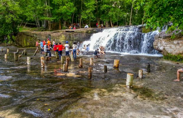 Trekking Angkor Temples and Kulen Mountain 2 days