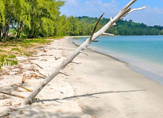 Ream National Park & Koh Sampoch Day Tour